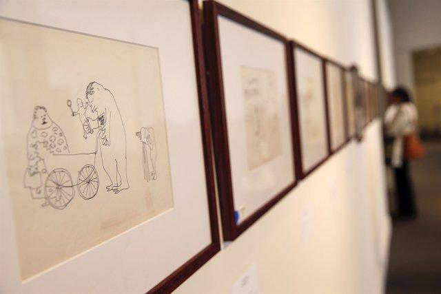 Manuscritos y dibujos de John Lennon, a subasta en Nueva York.