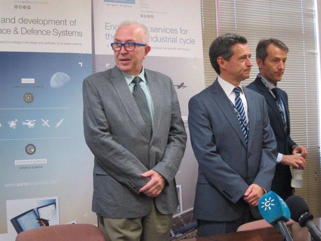 El consejero de Economía e Innovación, José Sánchez Maldonado, en ADM 2014