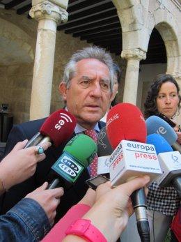 Consejero de Economía, Antonio Fernández