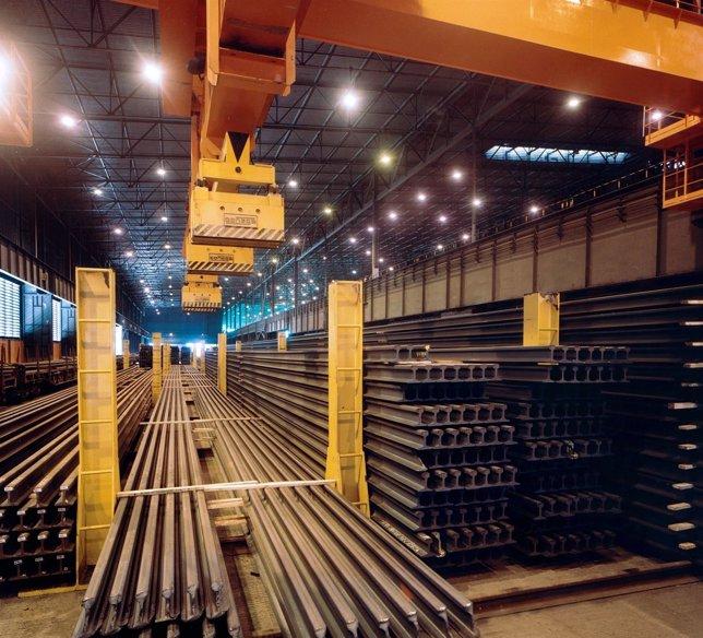 Tren de carril de ArcelorMittal