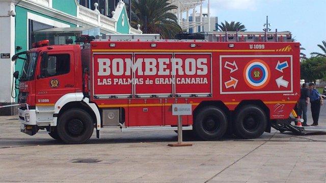 Camión de bomberos de Las Palmas de Gran Canaria