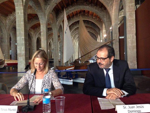 Neus Munté y Juan Jesús Domingo (Mémora)