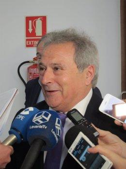 Presidente de la Diputación de Valencia. Alfonso Rus. Archivo