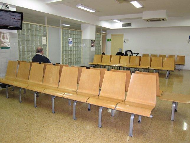 Sala De Espera En El CAP Manso De Barcelona (Archivo)