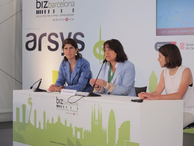 Susana Tintoré, Sònia Recasens e Itziar Blasco