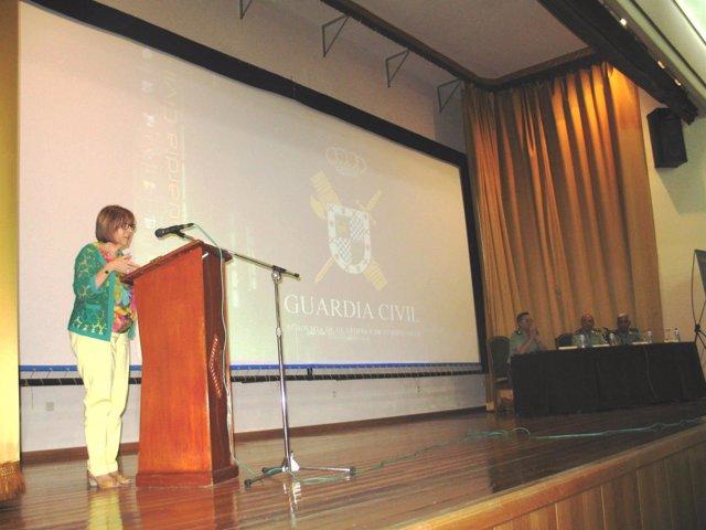 Purificación Gálvez, en una jornada sobre espectáculos públicos