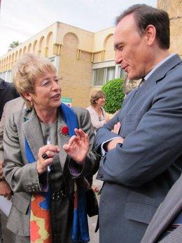 Víboras habla con el rector electo de la UCO, José Carlos Gómez Villamandos