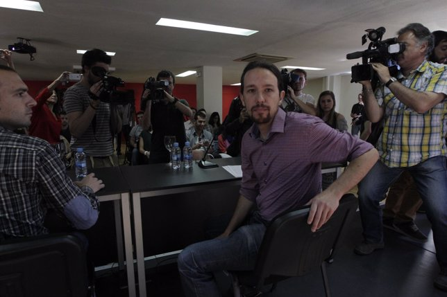 Líder De Podemos, Pablo Iglesias,