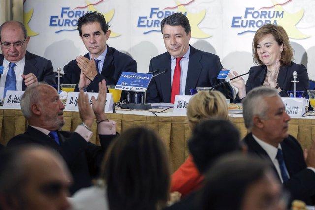 Ignacio González en el Nueva Economía Fórum