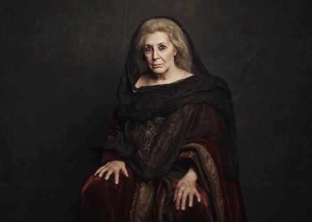 Concha Velasco, en la obra 'Hécuba'.