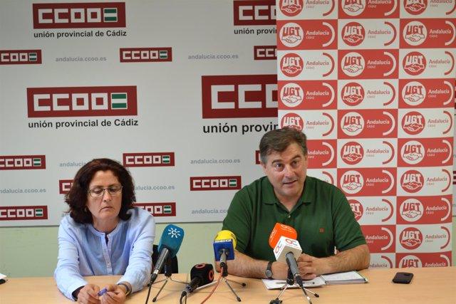 Rodríguez y Andreu en rueda de prensa