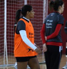 Marta Mangue Balonmano