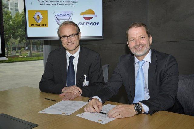 Repsol y Grupo Renault firman alianza para el mercado de AutoGas en España