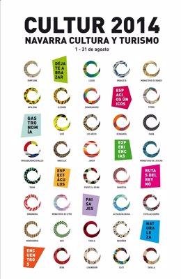 Cartel anunciador de Cultur 2014.