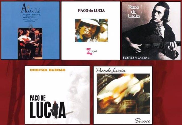 Discos de Paco de Lucía