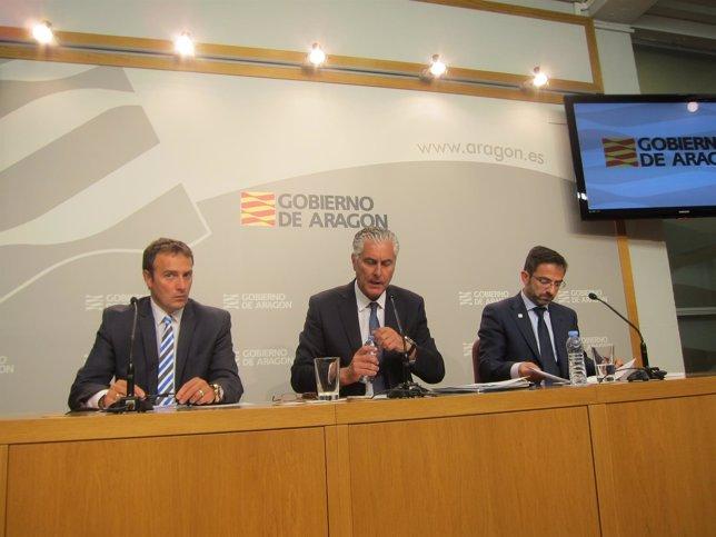 Eduardo Gallart, Antonio Suárez y Carlos Boné presentan los avances del Proyecto