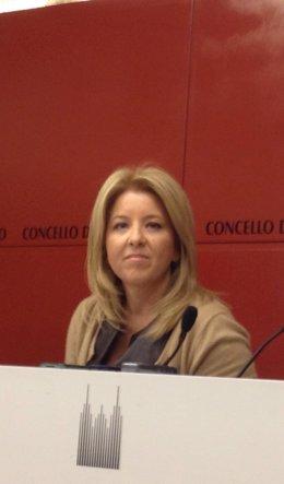 Reyes Leis, teniente de alcalde en Santiago de Compostela