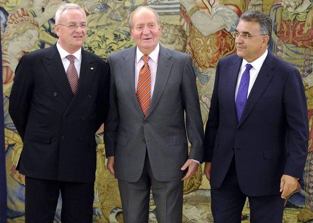 El Rey Juan Carlos, agradecido por las muestras de cariño de los españoles