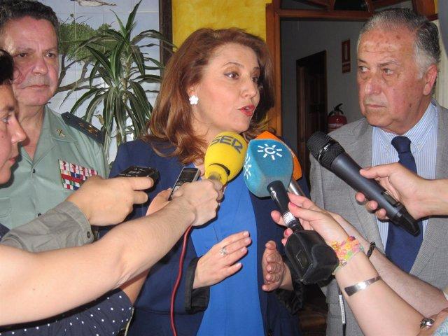 La delegada del Gobierno en Granada, Carmen Crespo.
