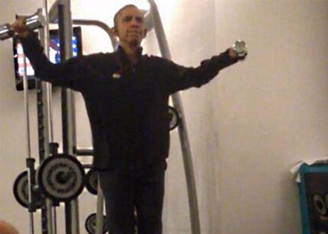 Barack Obama pesas inetrnet