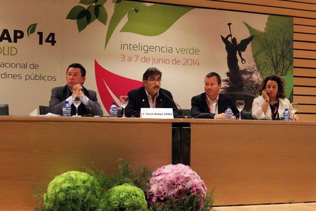 Presentación del congreso sobre parques y jardines