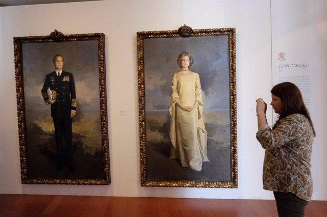Dos de los cuadros expuestos en el MUPAM arte cultura reyes exposición