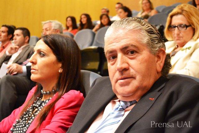 El fiscal de menores del TSJA, José Rogelio Muñoz, en la UAL