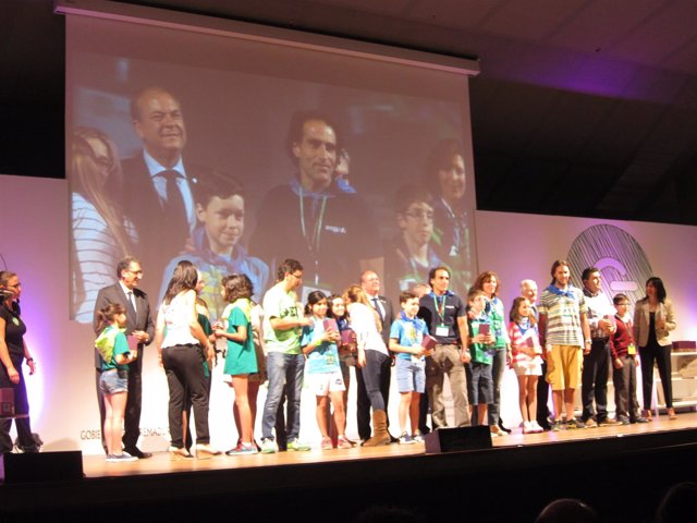 Participantes de Junior Emprende