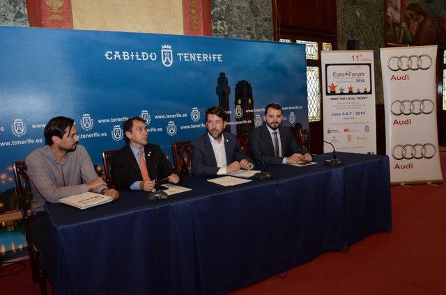 Presentación de 'Euroforum'