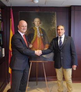 Bendodo Cuadro Bernardo de Gálvez en embajada España Estados Unidos Ramón Gil-Ca