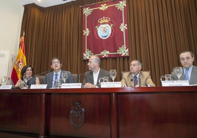 Acto en el Colegio de Abogados de Sevilla
