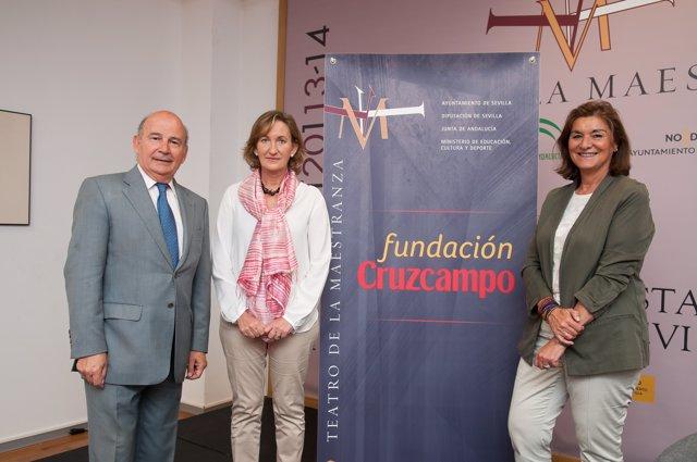 Convenio Colaboración Fundación Cruzcampo Y Maestranza