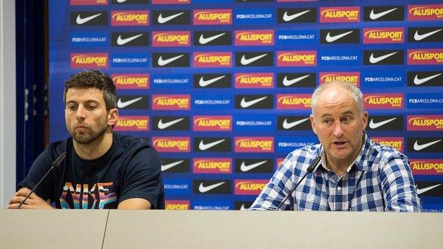 Jordi Torras y Marc Carmona, del FC Barcelona Alusport