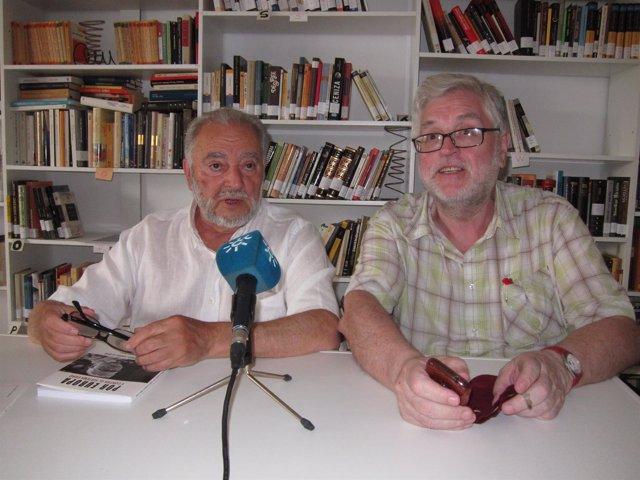 Julio Anguita con Manolo Monereo