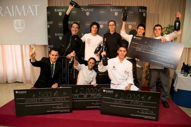 El cocinero Jordi Cruz ha presidido el jurado de jóvenes talentos de la cocina.