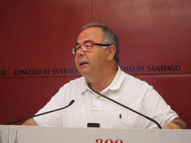 Xosé Sánchez Bugallo, Edil Socialista De Santiago