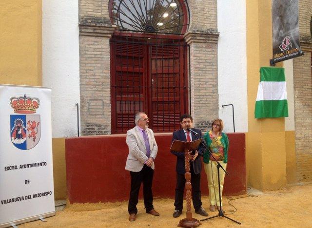Inauguración del Museo Taurino de Villanueva del Arzobispo