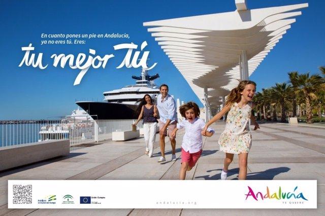 Presentación de la nueva campaña turística de Andalucía 'Tu mejor tú'