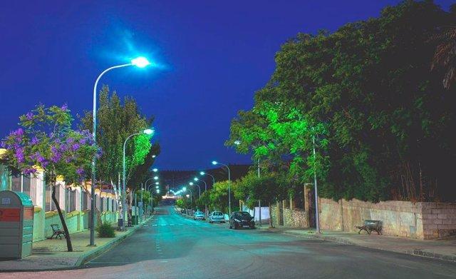Nueva iluminación más eficiente en El Saucejo