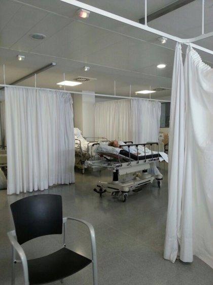 Satse denuncia que 128 pacientes de Txagorritxu (Vitoria) fueron atendidos en los pasillos el pasado mayo