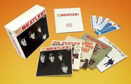 Todos los álbumes japoneses de los Beatles en una caja