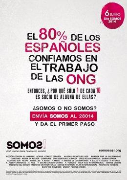Anuncio de campaña SOMOS, 33 ONG