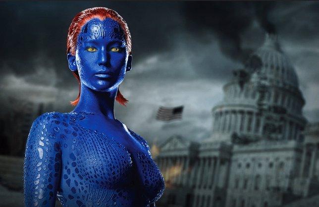 Jennifer Lawrence en  X-Men: Días del futuro pasado