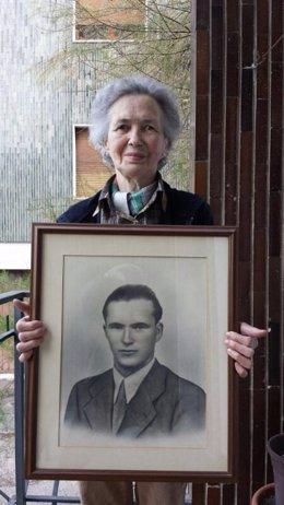 La hermana de Manuel Otero, único español muerto en el desembarco de Normandía