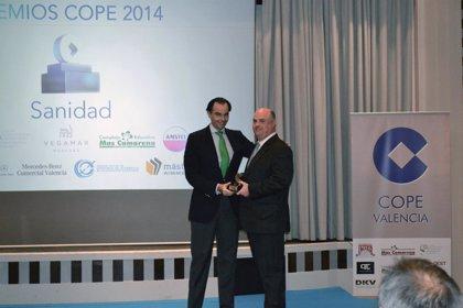 Ribera Salud, distinguido en la 'III edición de los Premios COPE Valencia' por su modelo de gestión sanitaria