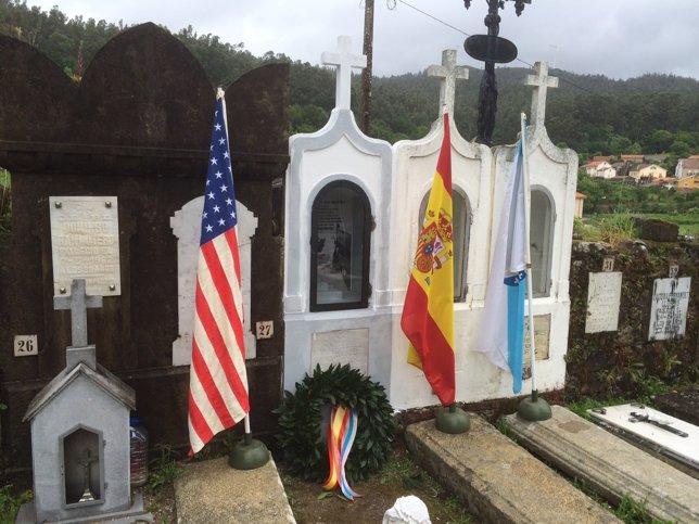 Manuel Otero, el único español que murió hace 70 años en el desembarco de Norman