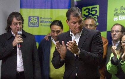El partido de Correa planea una reforma constitucional para bajar a 32 años la edad mínima para ser presidente
