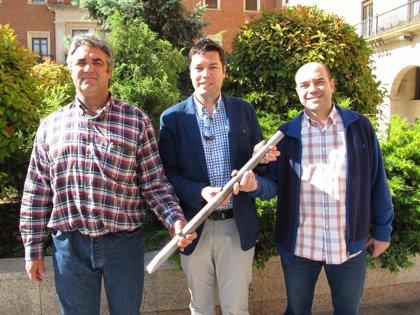 El parque de Los Fueros de Teruel acoge el Campeonato de Barra Aragonesa
