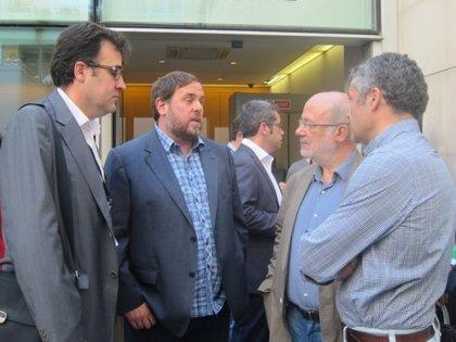 Junqueras felicita a ERC de Baleares por lograr más de un 7% de votos en las elecciones europeas