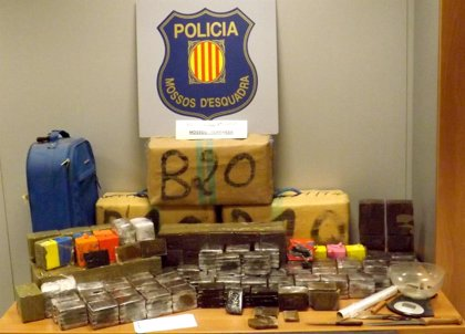 Prisión para un vecino de Terrassa que tenía 170 kilos de hachís en un trastero